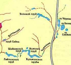 Где находится исток пехорки